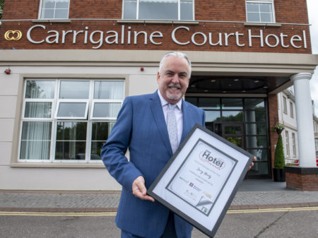 The 2020 'Hotel Manager of the Year' is based in… Carrigaline!