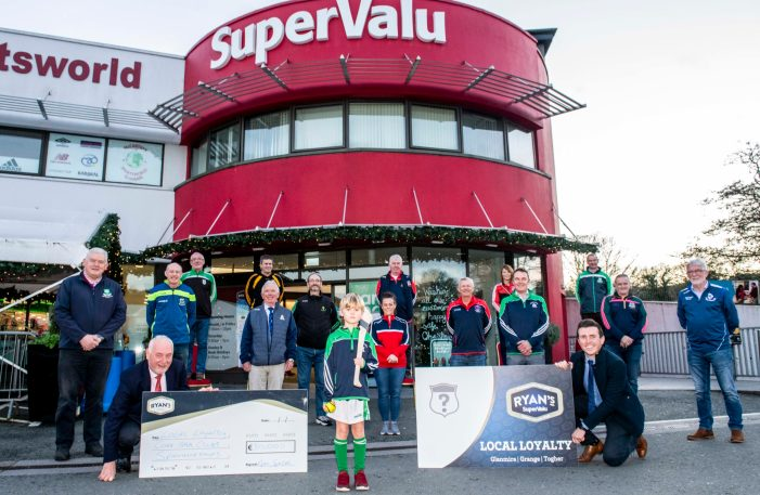 SPORT: Ryan's SuperValu sponsor local GAA clubs to the tune of €30,000