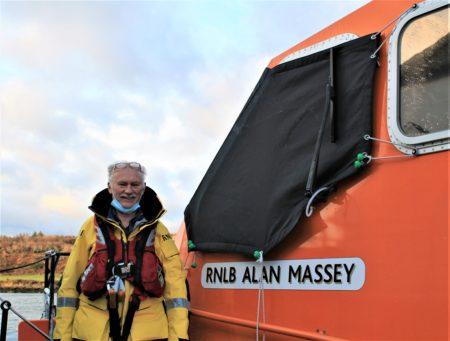 Well known Baltimore RNLI Lifeboatman Coxswain Kieran Cotter retires after 45 years service @RNLIBaltimore @RNLI #WestCork