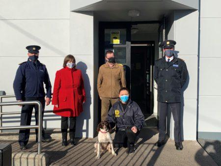 Dog stolen from Cork, Ireland is found in Somerset, England #EastCork @ASPolice