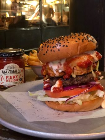Here's where you can get the new Limited edition Ballymaloe burger @ballymaloefoods @Coqbull_Cork