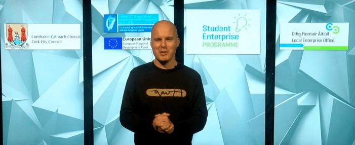 Scoil Mhuire Gan Smal exploding with joy to win Cork City Schools Enterprise Programme with Bosca Cóisir @StevieGrainger