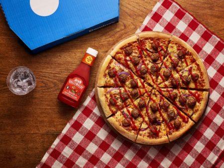 Ballymaloe Relish on a Pizza – 'Meatball Maloe' – now available at Dominos @BallymaloeR @BallymaloeFoods