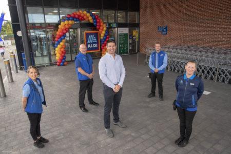 New Aldi opens in Douglas