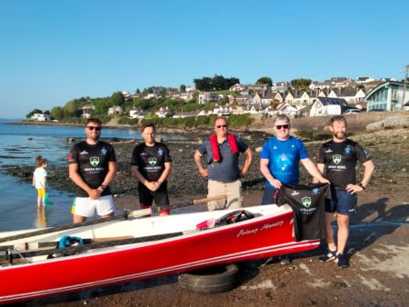 First-time team of rowers successfully row 35km around Cork Harbour's 3 islands of Cobh, Haulbowline, Spike Island