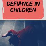 parenting defiant children