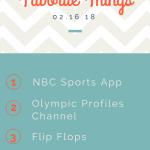 favorite things olympics