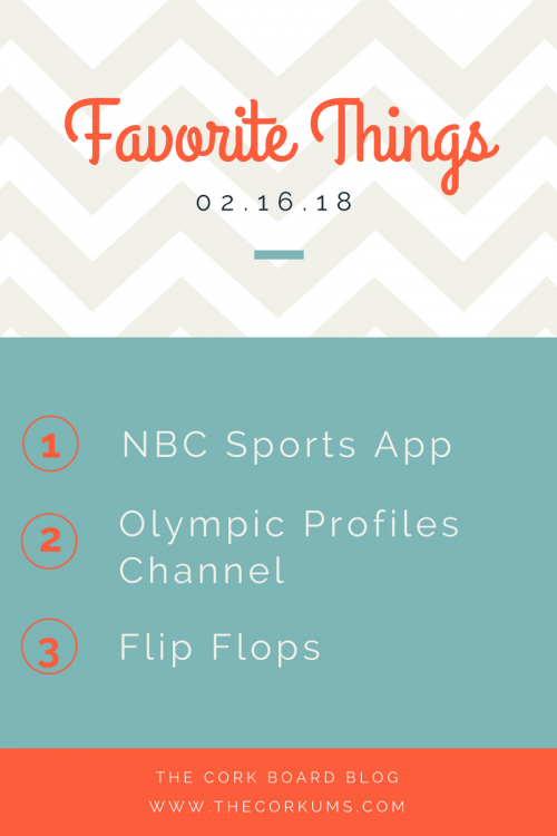 favorite things olympics