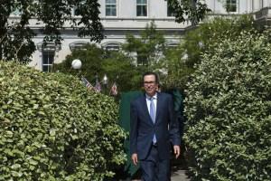 Mnuchin wants 'another round' of stimulus checks passed this month