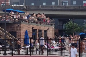 Hundreds of South Carolina college students busted at massive pool party