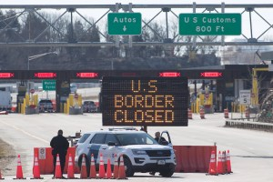 Trump says US-Canada border to return to normal 'pretty soon'