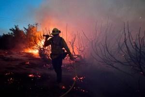 California battles wildfires, coronavirus and earthquake all in one week