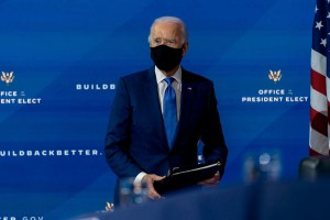Joe Biden says he'll ask Americans to wear masks for 100 days