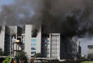 Fire kills 5 at Indian coronavirus vaccine producer