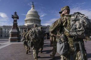 Over150NationalGuardat Biden's inauguration in Washington test positive for COVID-19