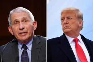 Anti-vaxxers trust Trump more than Fauci, think it's safe to travel