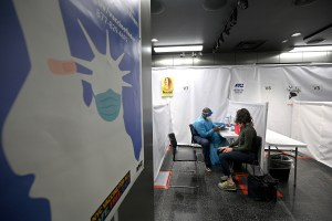 Defective COVID shots given at Times Square vaccination site