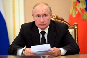 Vladimir Putin in self-isolation after members of inner circle get COVID-19