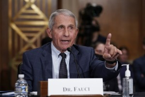 Fauci: COVID cases must go 'way down' before vaxxed Americans can ditch masks indoors