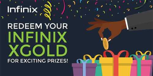 Infinix XGold Redeeming