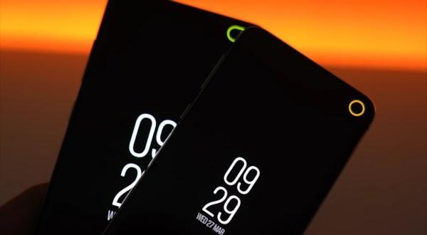 Tecno LED notifications