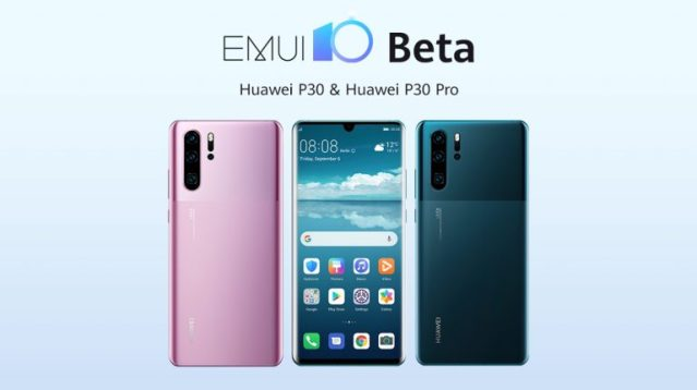 Huawei android 10 + EMUI 10 update