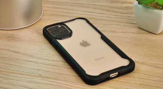 Olixar Novashield clear bumper case
