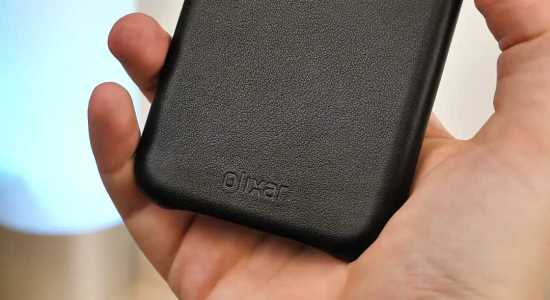 Olixar Genuine Leather case