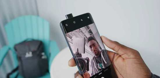 OnePlus 7T Pro pop-up selfie camera
