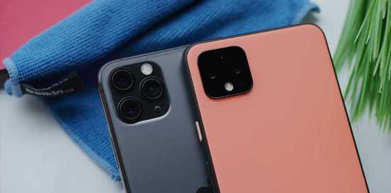 Google Pixel 4 vs Apple iPhone 11 Pro Max