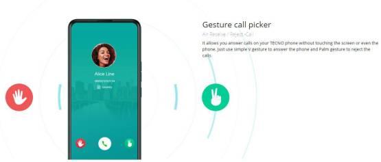 Gesture call picker