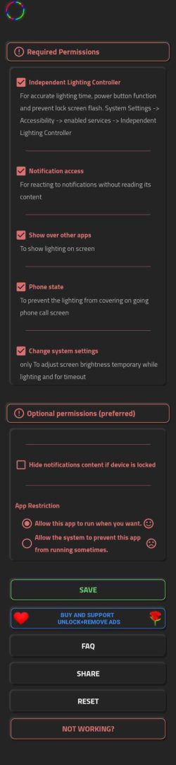 Samsung Galaxy S10 and S20 (Ultra) hole punch LED notifications
