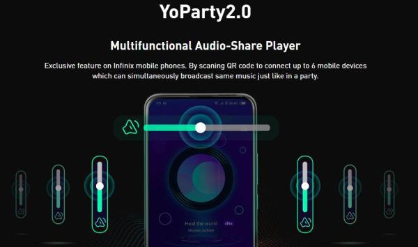 Infinix YoParty app