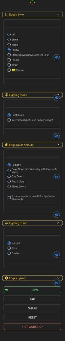 Xiaomi Mi 11 notification LED