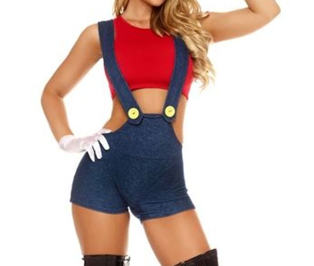 Adult Next Level Women Video Game Costume