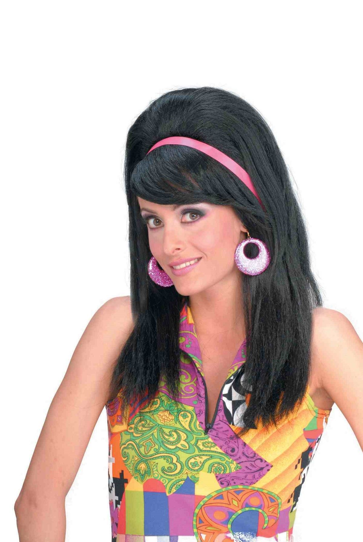 Adult 60s Mod Women Wig 1999 The Costume Land