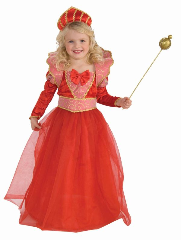 Kids Ruby Queen Princess Costume | $14.99 | The Costume Land