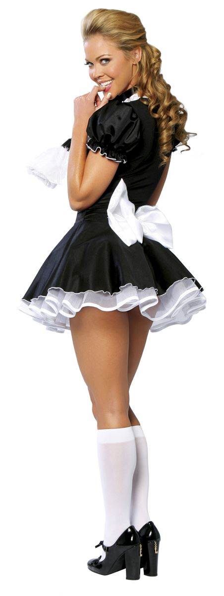 Adult French Maid Womens Costume 4699 The Costume Land