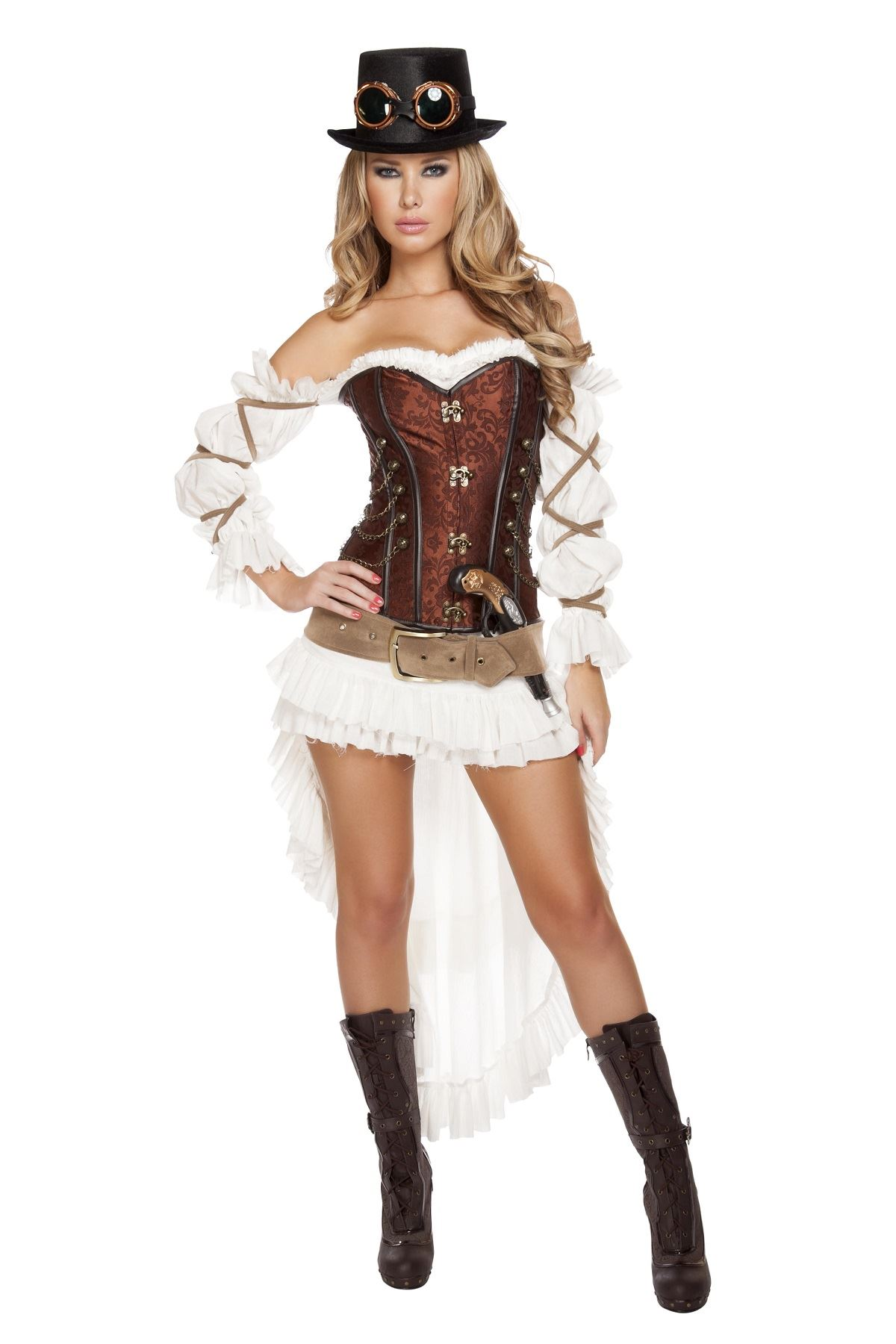 Steampunk Babe Woman Deluxe Halloween Costume