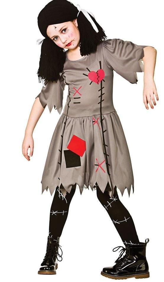 Teen Freaky Voodoo Doll Costume