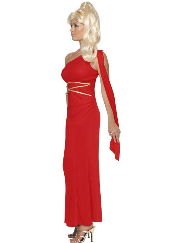 Aphrodite Costume Red