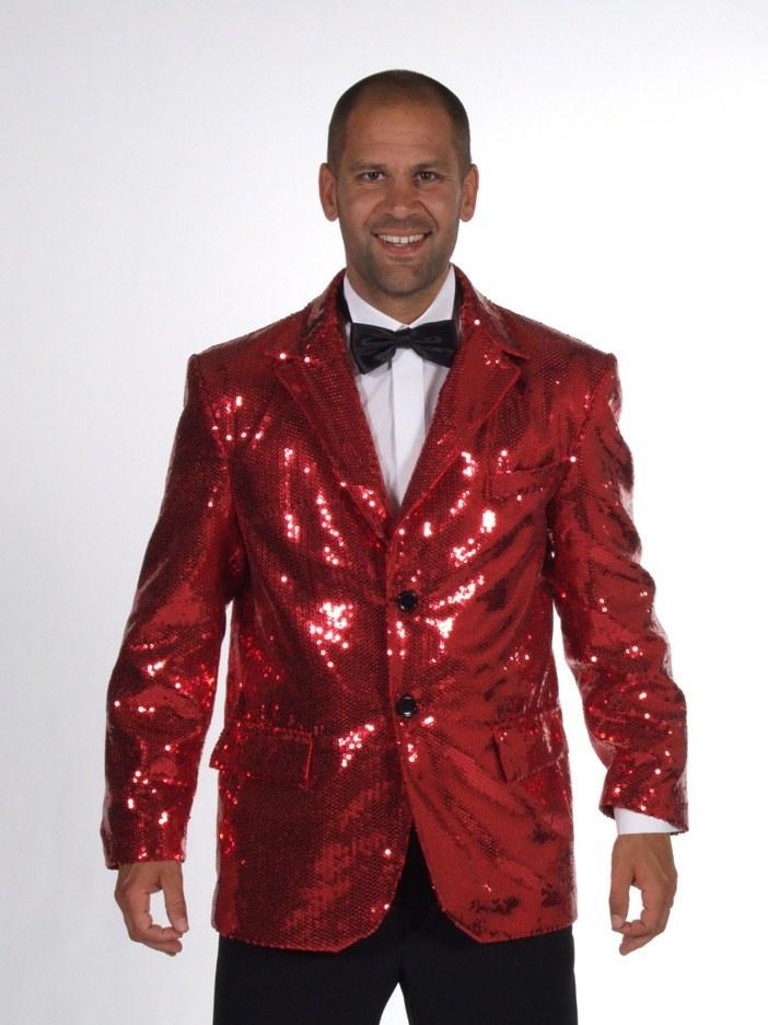 Mens Deluxe Sequin Jacket