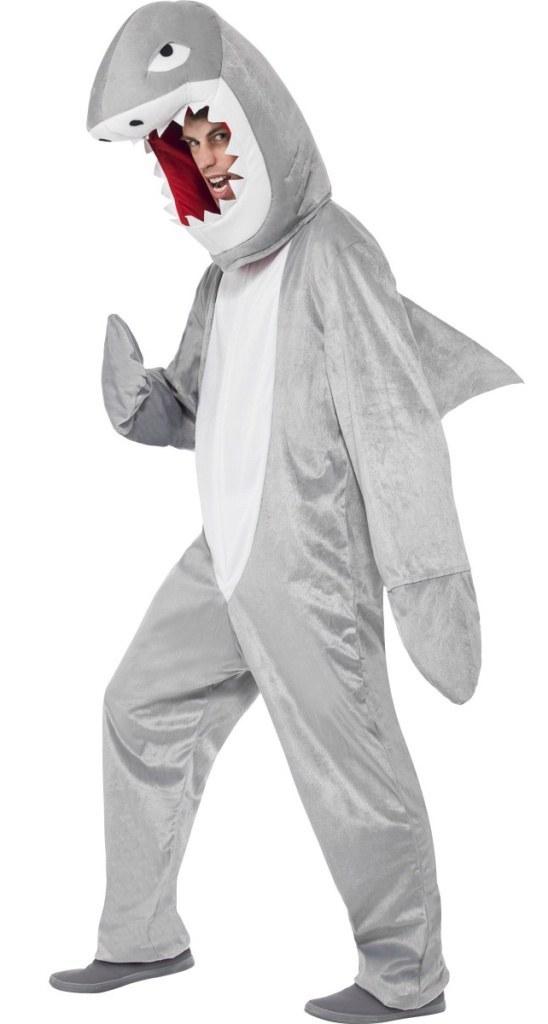 Grey Shark Costume