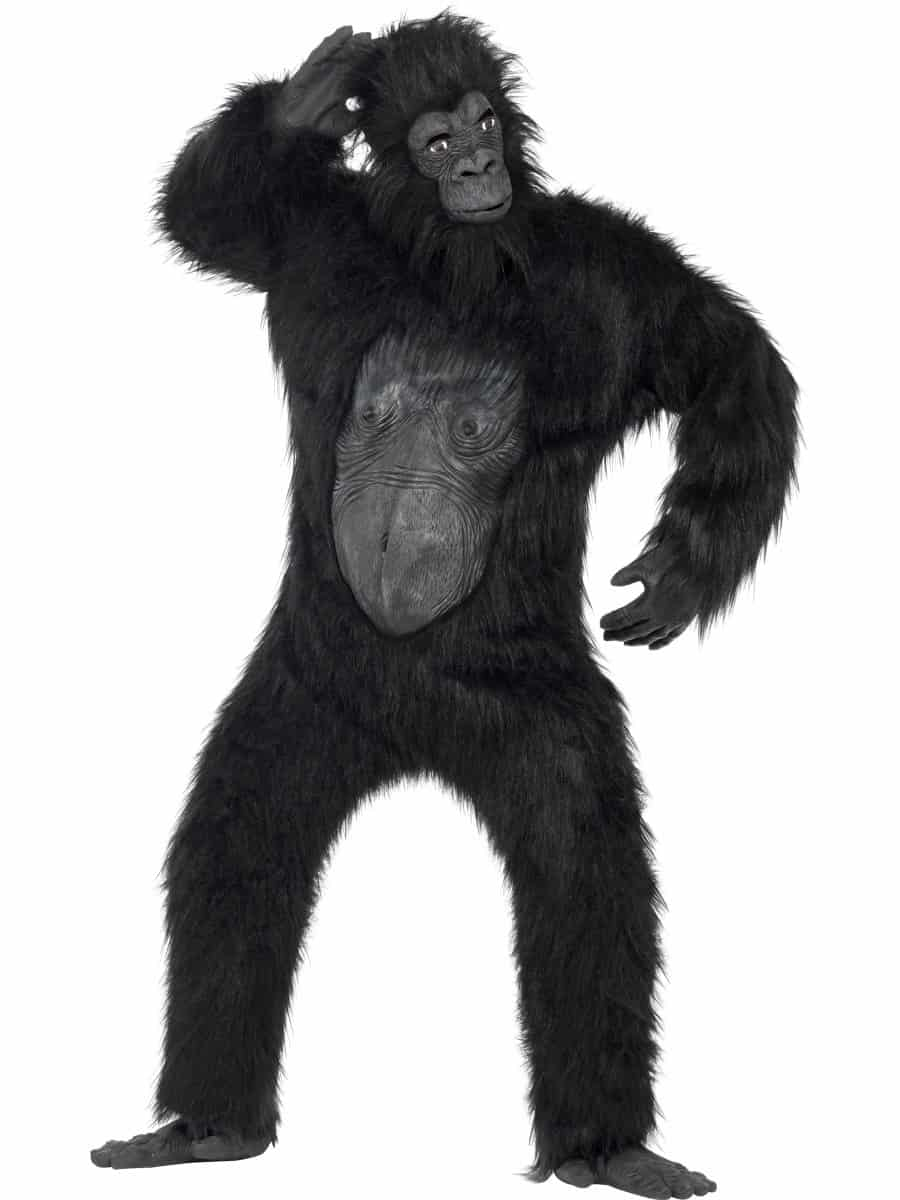 Plush Gorilla Costume