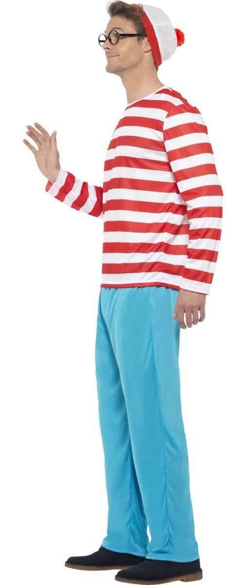 Budget Wheres Wally Costume Only 2699