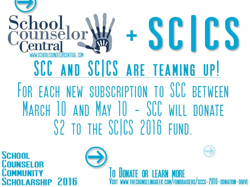 School Counselor Central and SC|CS 2016 Team Up To Raise Funds
