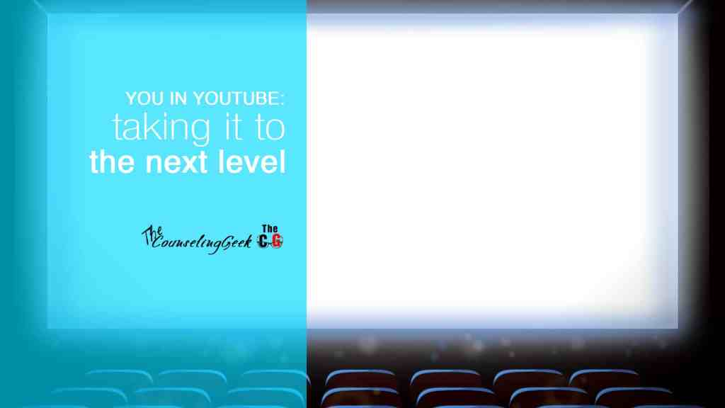 How to use YouTube Live as a school counselor and educator. A wonderful, free way to increase participation in your events [VIDEO BLOG]