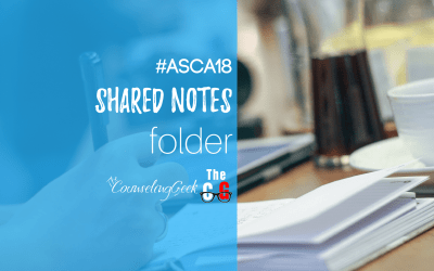Shared Resources: #ASCA18 Shared Session Notes Folder
