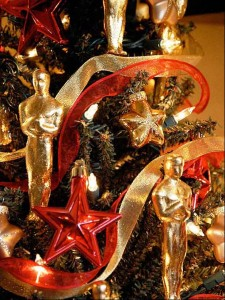 Hollywood Styel Christmas Tree decorating ideas