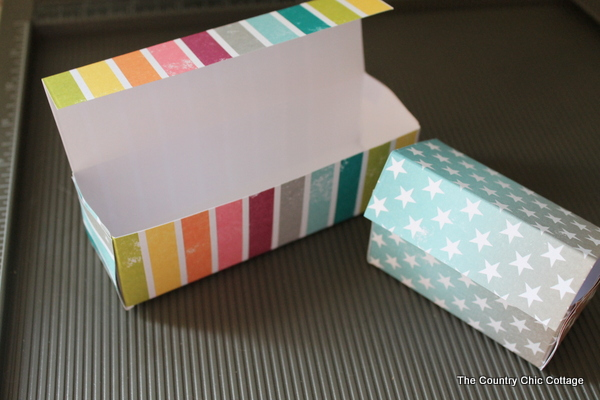 DIY Gift Boxes THE COUNTRY CHIC COTTAGE DIY Home